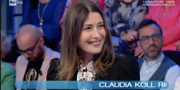 Claudia Koll Vieni da me Rai1