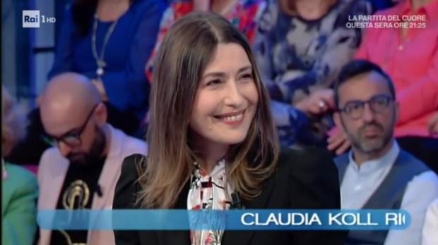 Claudia Koll Vieni da me Rai1