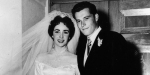 ELIZABETH TAYLOR AND CONRAD HILTON JR.