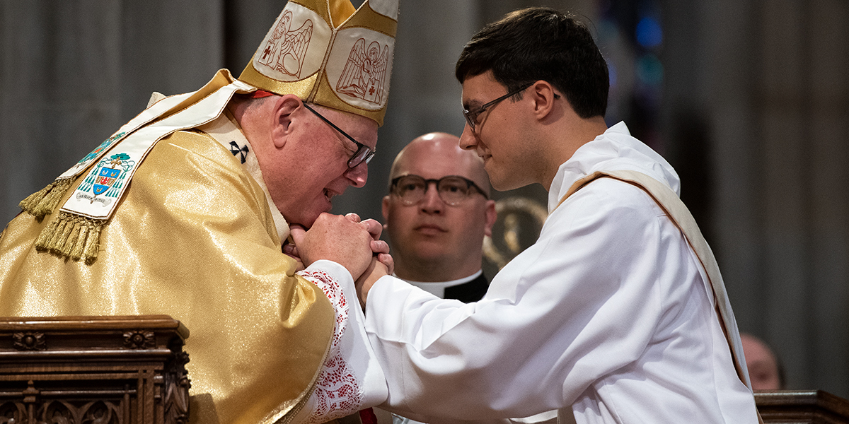 ORDINATION,NEW YORK,CARDINAL DOLAN