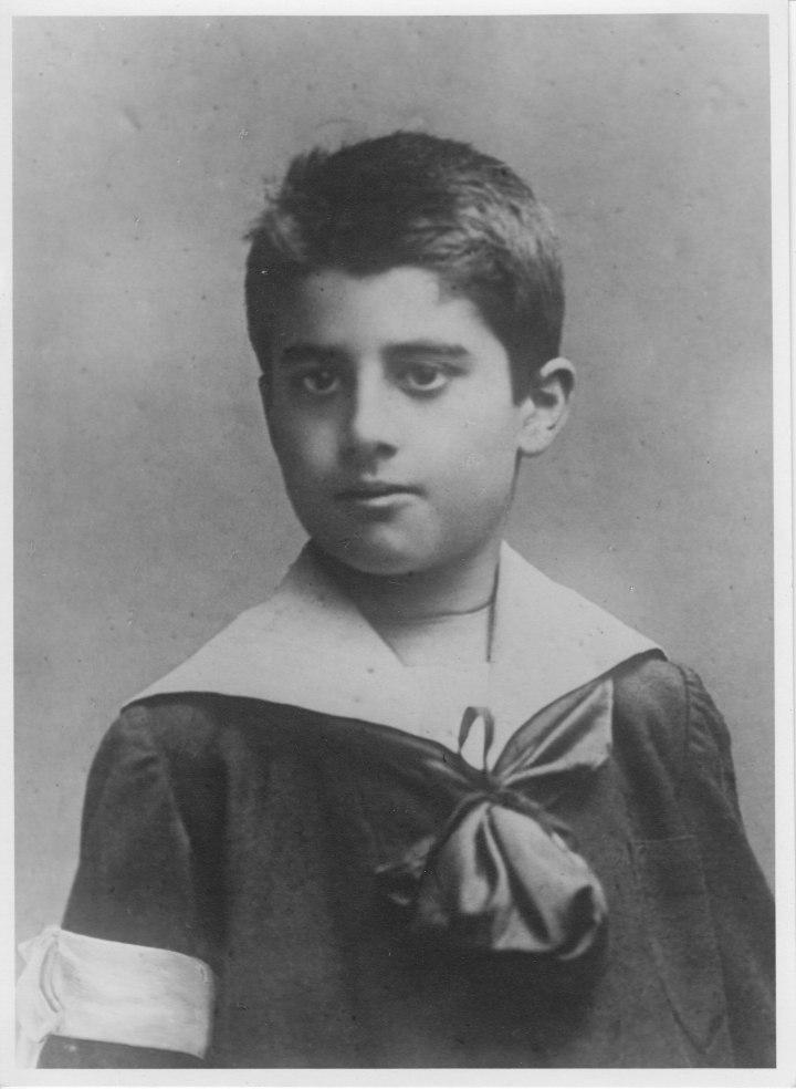 Pier Giorgio Frassati, first communion