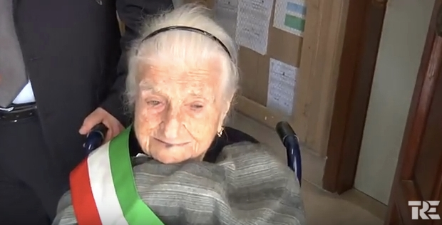 more old woman in europe