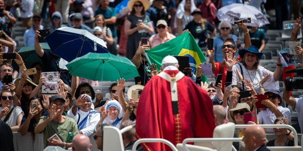 POPE FRANCIS - PENTECOST MASS - SUNDAY