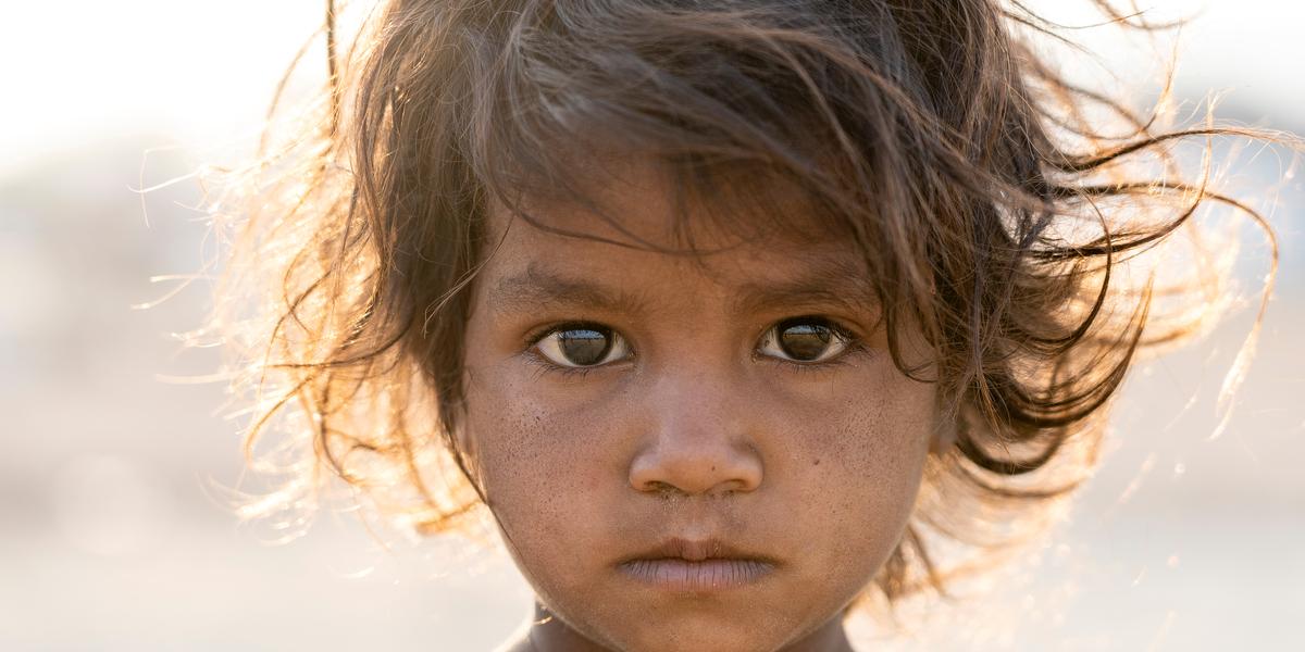 INDIA, GIRL, DESERT