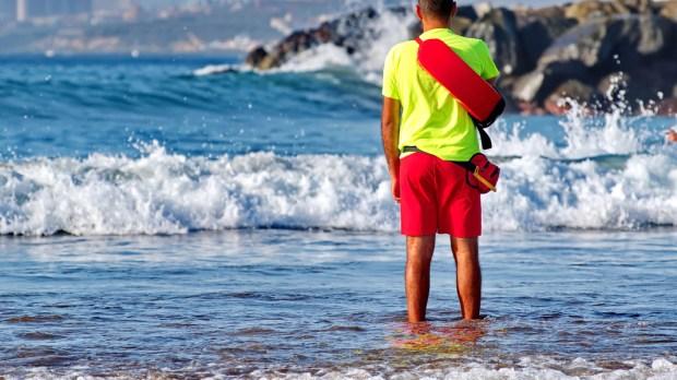 BOY, LIFEGUARD, SEA