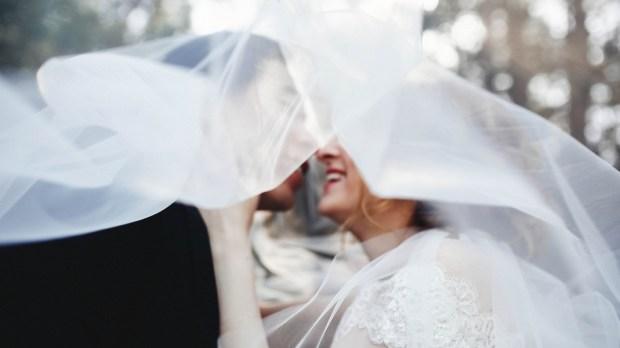 WEDDING, MARRIED, VEIL