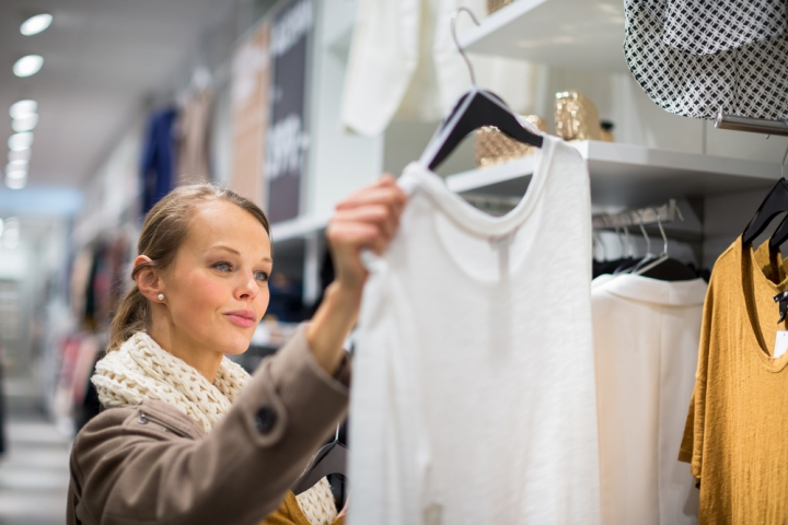 WOMAN, SHOPPING, DRESS