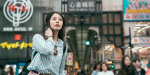 GIRL, JAPAN, CROWD