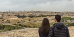 COUPLE, HOLY LAND, JERUSALEM
