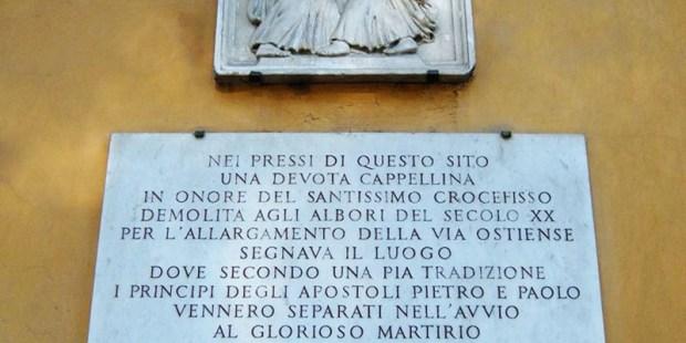 (FOTOGALLERY) Santi Pietro e Paolo sulla via Ostiense