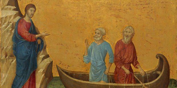 DUCCIO, CALL, SAINT PETER