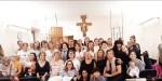 Foto di gruppo monastero Movimento femminile donne cristiane