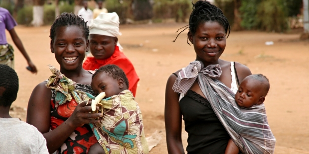 AFRICA, MOTHERS, BABIES