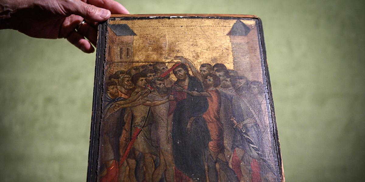 Cimabue's Christ Mocked