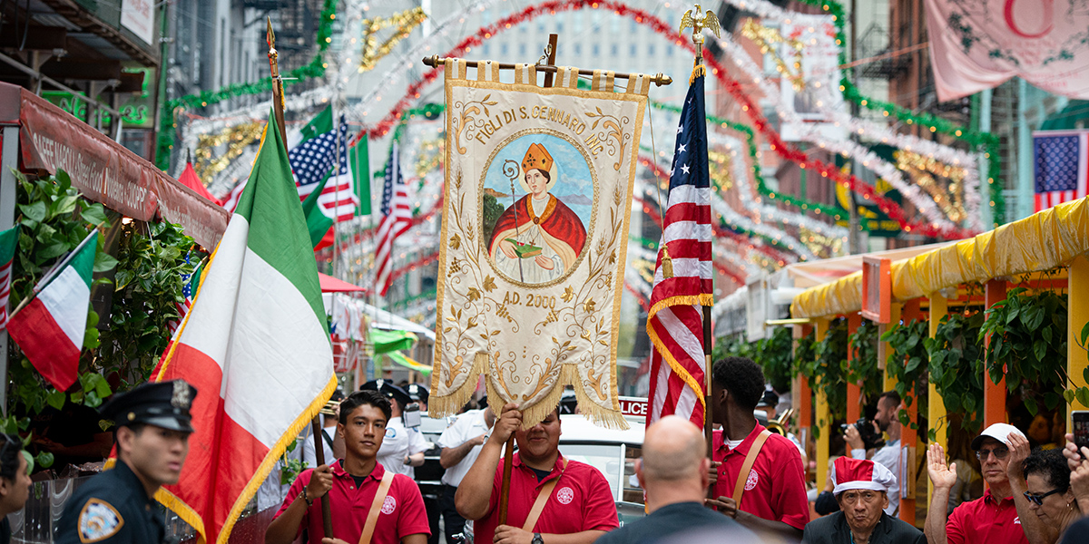 SAN GENNARO,NEW YORK,LITTLE ITALY