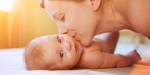 MOTHER, KISS, NEWBORN