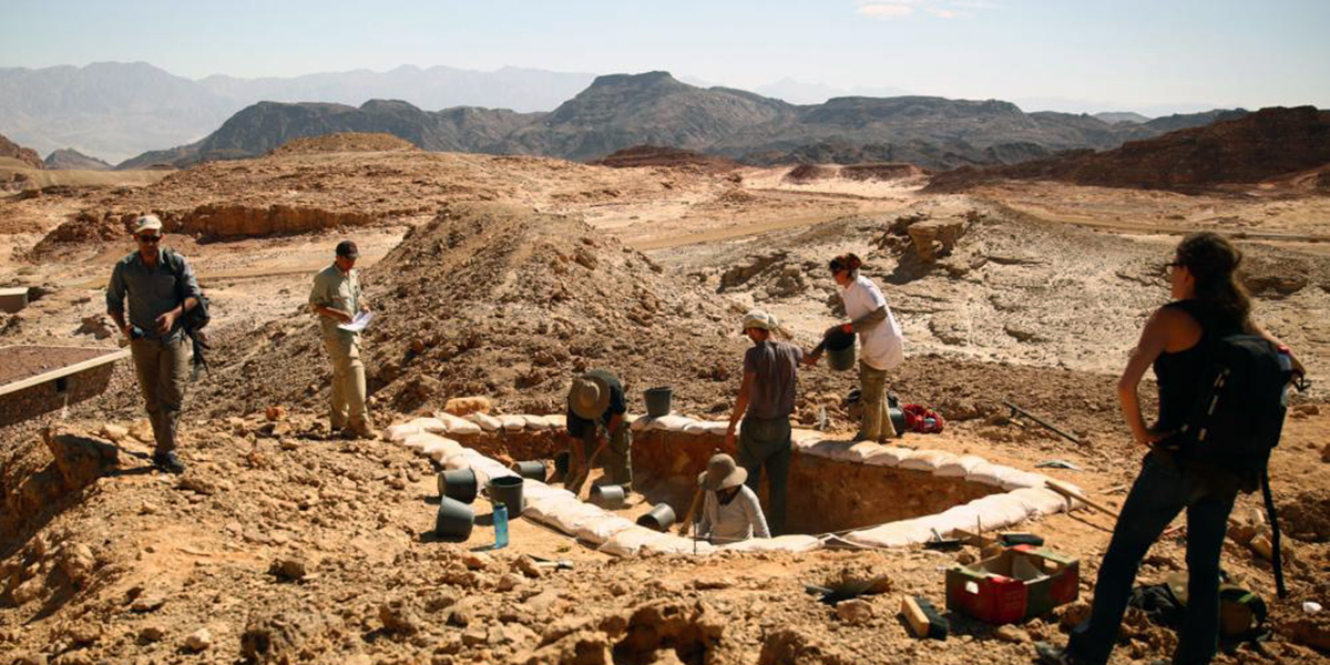 Tel Aviv University's Central Timna Valley Project