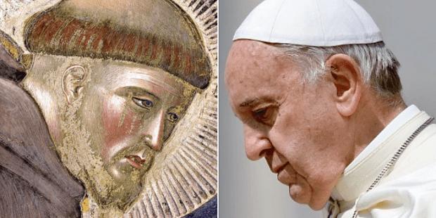 São Francisco e Papa Francisco