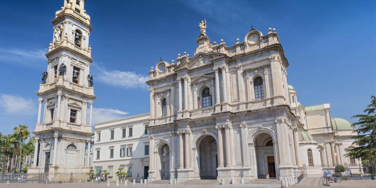 Sanctuaire Vierge du rosaire de pompei
