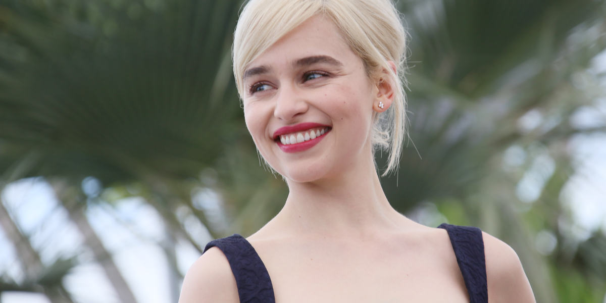 EMILIA CLARKE; GAME OF THRONES