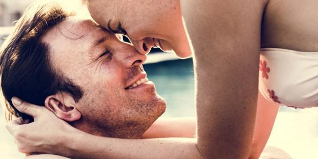 COUPLE, HAPPY, KISS