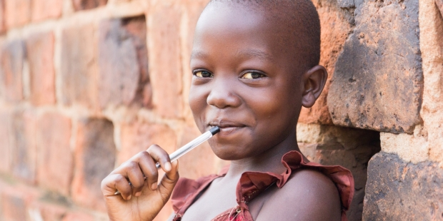 UGANDA, GIRL, SMILE