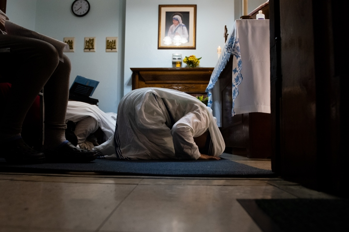 MISSIONARIES OF CHARITY;NEW YORK;MOTHER TERESA