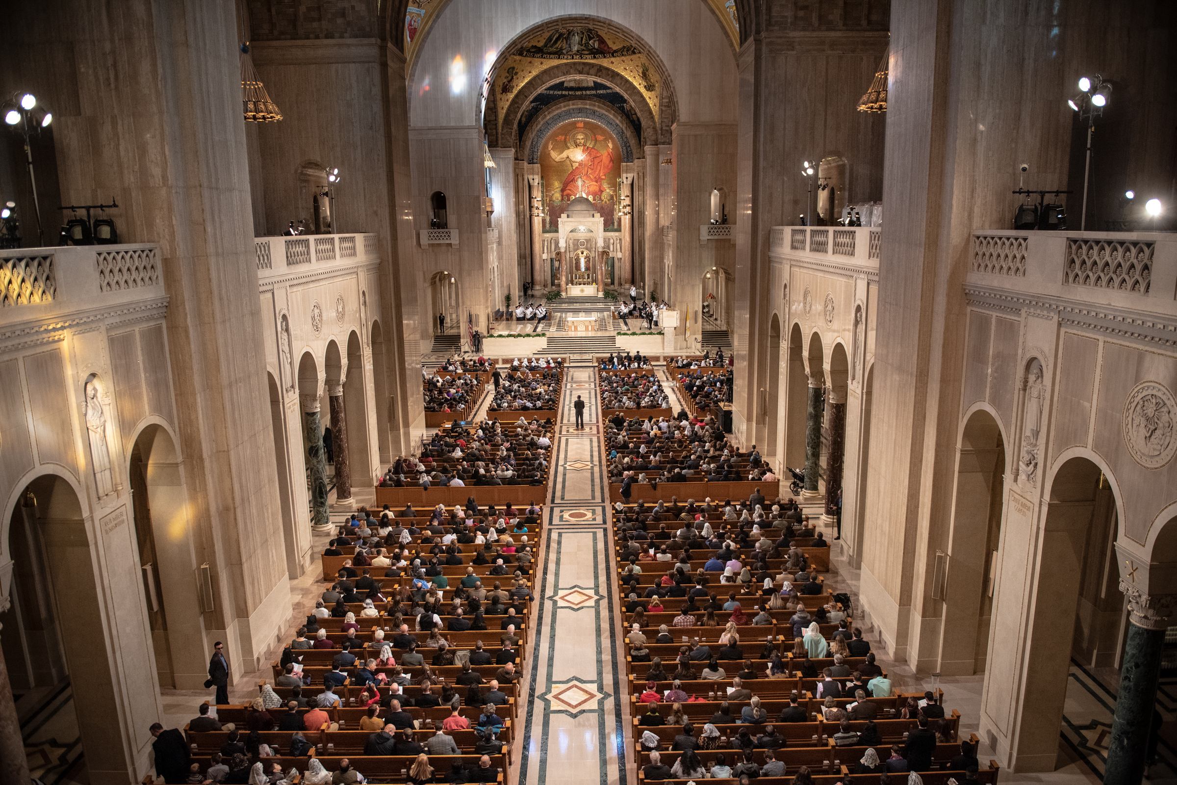 NATIONAL SHRINE OF THE BASILICA OF THE IMMACULATE CONCEPTION WASHINGTON