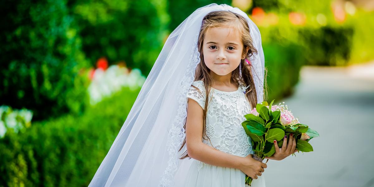 GIRL, CHILD, BRIDE