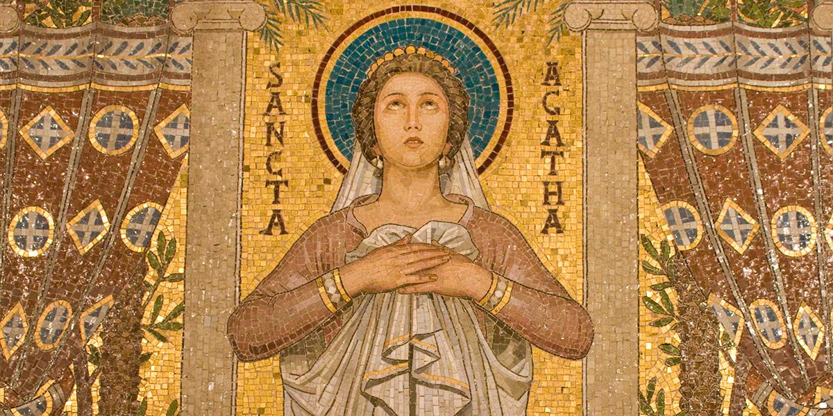 SAINT AGATHA OF SICILY