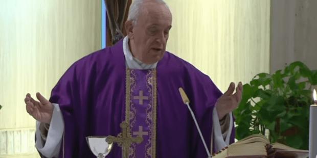 POPE FRANCIS SANTA MARTA