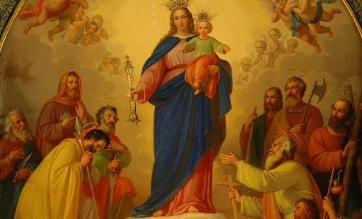 (FOTOGALLERY) Immagini della Vergine Maria in tempi difficili