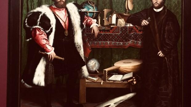 HANS HOLBEIN; THE AMBASSADORS