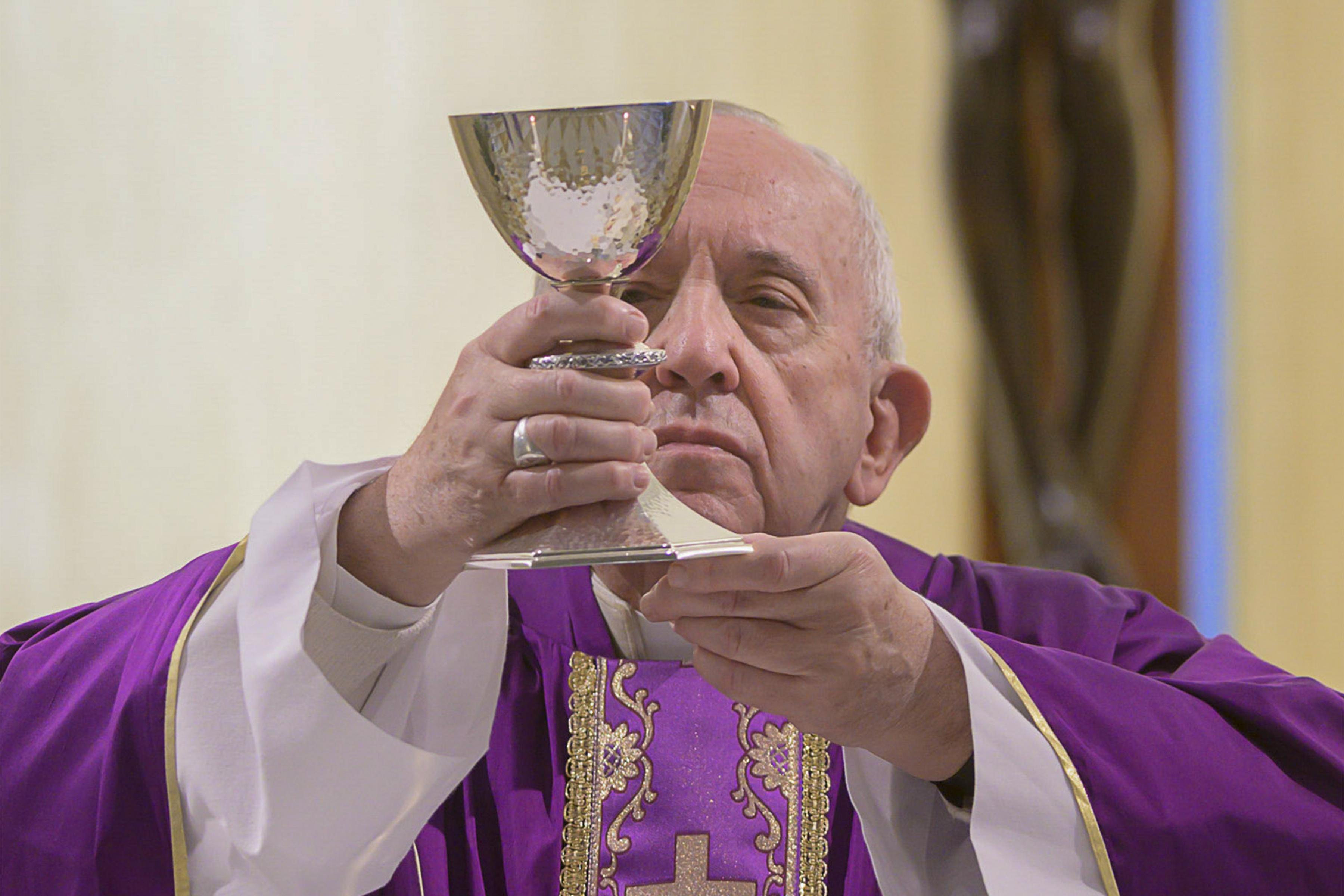 POPE - HEALTH - VIRUS