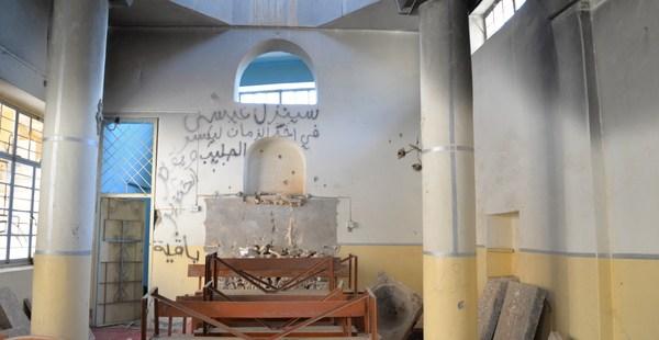 IRAQ CHURCH; ST KYRIAKOS
