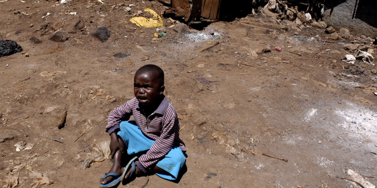 CHILD, KENYA, CRYING