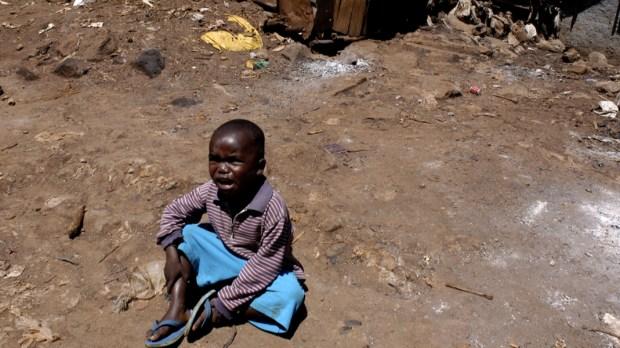 CHILD, KENYA, CRYING