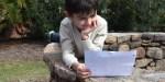 CHILD, READING, LETTER