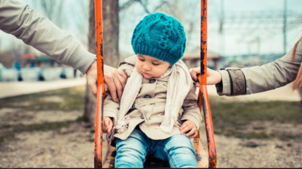 CHILD, SEPARATED, PARENTS