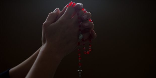 ROSARY, HANDS, PRAY,