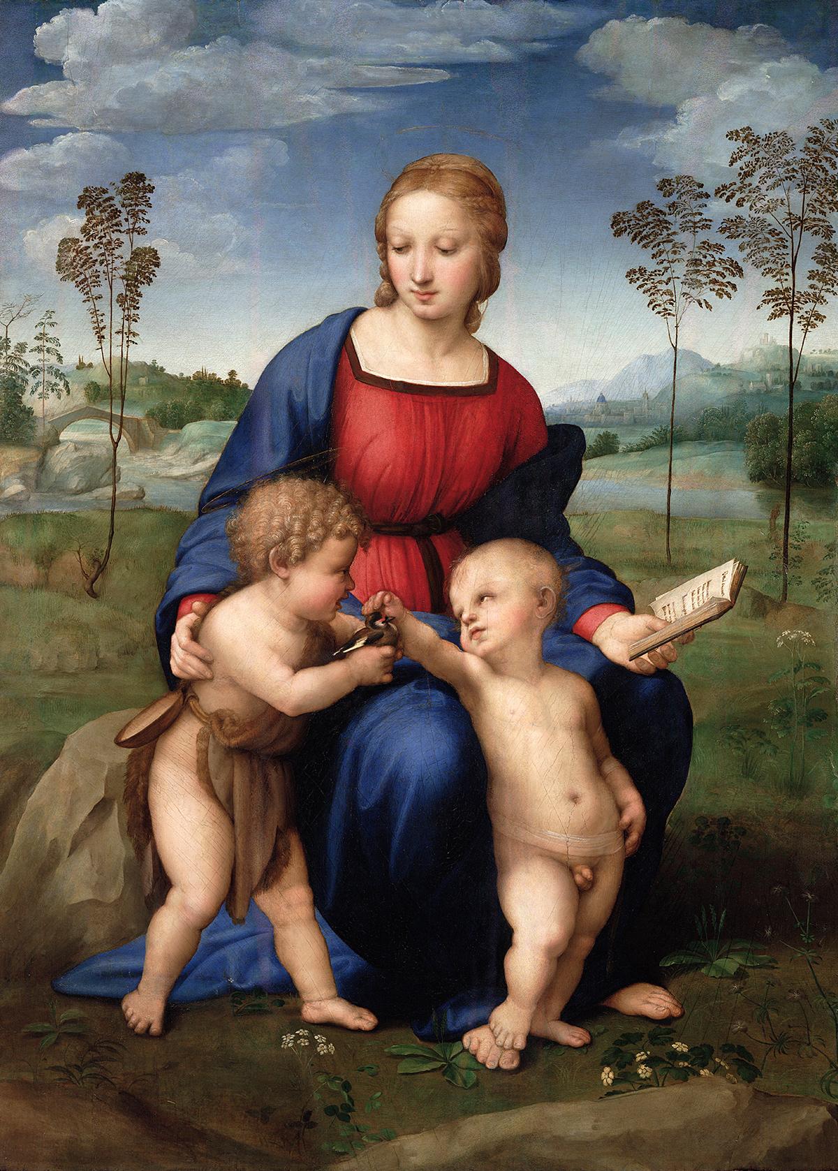 Raffaello Sanzio's Madonna of The Goldfinch (1505-1506)