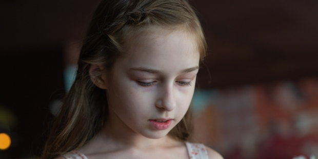LITTLE GIRL PORTRAIT,