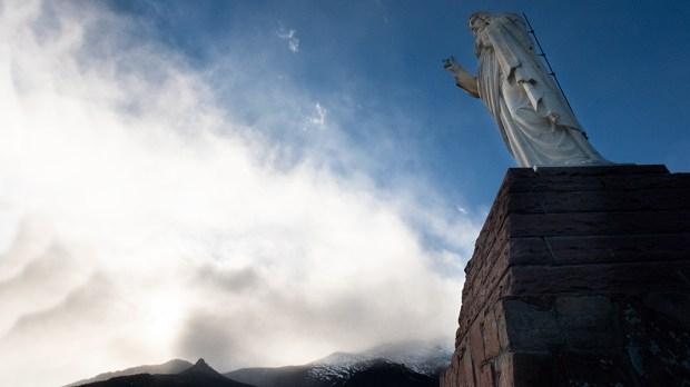 COLORADO, CHAPEL ON THE ROCK, ROCKY MOUNTAINS