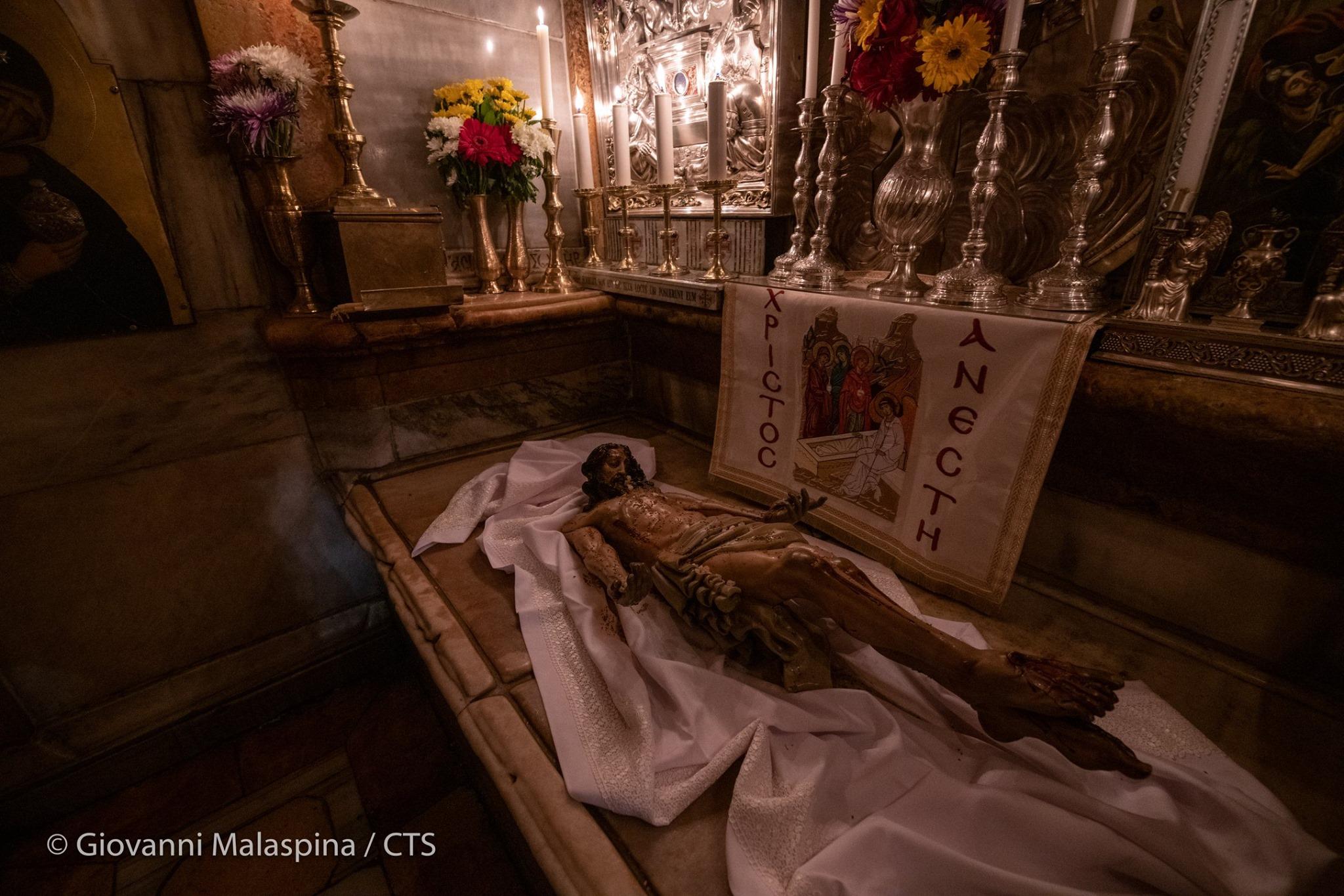 VIA CRUCIS JESUS CHRIST HOLY SEPULCHER
