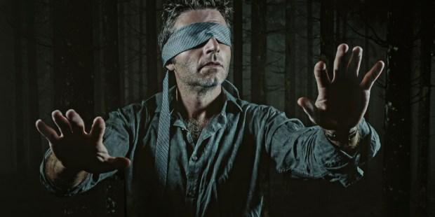 BLINDFOLDED MAN,