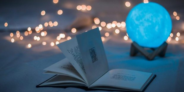 BOOK, LIGHTS, RELAX