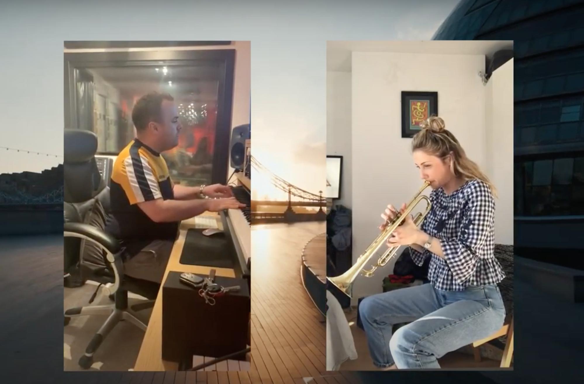 MUSICIANS VIRAL VIDEO COVID