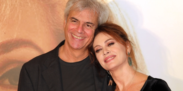 ELENA SOFIA RICCI AND HER HUSBAND