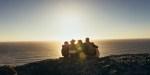 FRIENDS, SUNSET, SEA