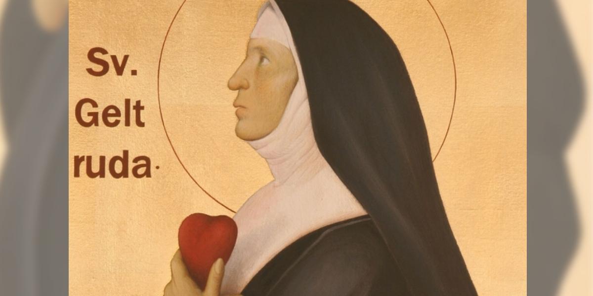 Sainte Gertrude d'Helfta - Sacré Coeur de Jésus